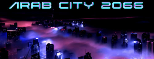 Arab futuristic city